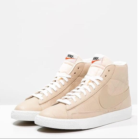 beige high top sneakers